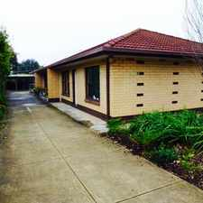 Rental info for SMALL GROUP OF 3- BEAUTIFUL EASTERN SUBURB LOCATION- MINUTES TO PARADE NORWOOD