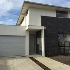 Rental info for Near New Townhouse - 3 bedrooms