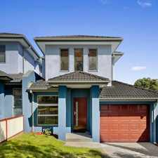 Rental info for Brand new 3 Bedroom Townhouse in the Melbourne area