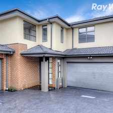Rental info for PERFECT 3 BEDROOM TOWNHOUSE!