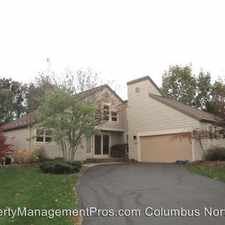 Rental info for 5549 Aryshire Drive in the Dublin area