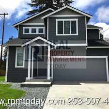 Rental info for 17520 10th Ave E in the Spanaway area