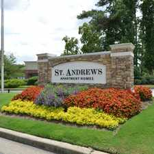 Rental info for St. Andrews