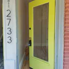 Rental info for 2733 Accomac - 2733 in the Fox Park area