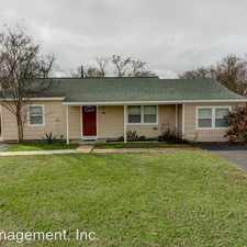 Rental info for 4336 Culpepper