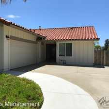 Rental info for 2033 Camino Dr