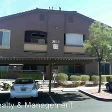 Rental info for 3540 Cactus Shadow St #104