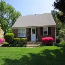 Rental info for Brick Front Cape Cod with Four Bedrooms, and 2 Full Baths!