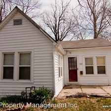 Rental info for 423 S. Tennessee Ave.