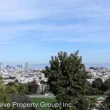 Rental info for 756 Church Street (top floor) in the Dolores Heights area