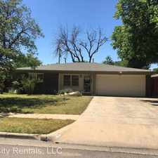 Rental info for 4507 48th Street in the Lubbock area