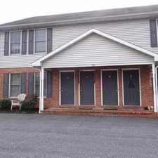 Rental info for Nicely Maintained, 2 Bedroom Womelsdorf Townhouse.