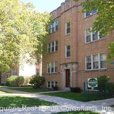 Rental info for 1731 W. Thorndale Unit 1A in the Edgewater area
