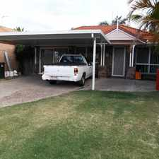 Rental info for COSY ENTERTAINER in the Coombabah area