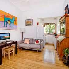 Rental info for ONE BEDROOM APARTMENT IN THE HEART OF BONDI!
