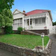 Rental info for Neat and tidy 3 bedroom Edwardian home in the Belmont area