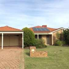 Rental info for Great family home with all the convenience, transport, schools and shopping!! Call 0414 493 765 to arrange viewing!