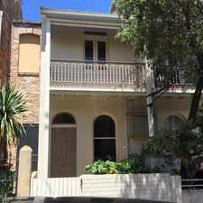 Rental info for DEPOSIT TAKEN - RECENTLY RENOVATED, ONE BEDROOM TERRACE PLUS STUDY! in the Sydney area
