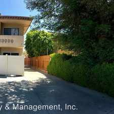 Rental info for 13000 Moorpark St #4 in the Los Angeles area