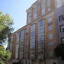 Rental info for 1483 Sutter Street #505 in the Cathedral Hill area