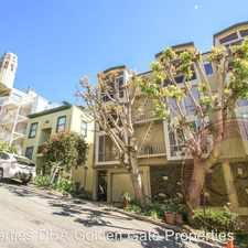 Rental info for 439 Greenwich Street, Unit #6B in the Telegraph Hill area