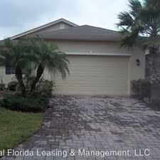 Rental info for 857 Grand Canal Drive