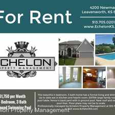 Rental info for 4200 Newman