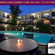 Rental info for Be Downtown in minutes AD# CEJ 1005 in the Houston area