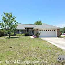 Rental info for 9831 Parker Lake Circle in the Navarre area