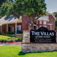 Rental info for Villas of Josey Ranch in the Dallas area