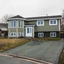 Rental info for 7a Exploits Place- Awesome 2 Bed Apt on Cul-de-Sac in Mt. Pearl in the Mount Pearl area