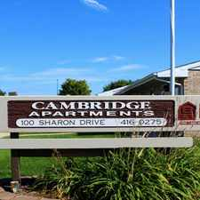 Rental info for Cambridge Apts