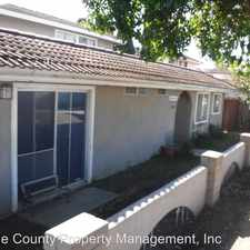 Rental info for 616 CALLE CAMPANA #4 in the San Clemente area