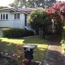 Rental info for Character & Charm Three Bedroom Family Home in the Brisbane area