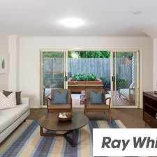 Rental info for 3 Bed Townhouse in Quiet Leafy St Lucia Pocket! in the Toowong area