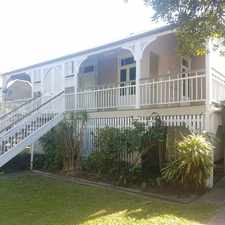 Rental info for WOOLOOWIN FAMILY HOME in the Brisbane area