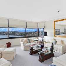 Rental info for AMAZING VIEWS OVERSIZED ENTERTAINING AREA in the Sydney area