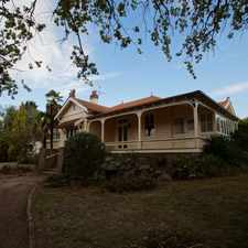 Rental info for Grand Home with history and convenience to town in the Armidale area