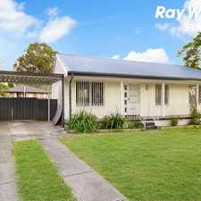 Rental info for GREAT FAMILY HOME in the Doonside area