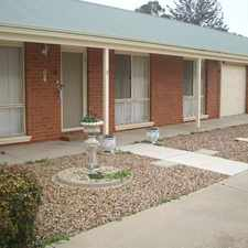 Rental info for Neat Unit in Quiet Street in the Echuca area