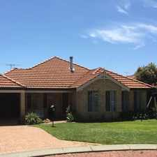 Rental info for SUPERB HOME! in the Perth area