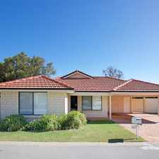Rental info for LOVELY HOME IN THE GOLDEN GROVE PRIVATE ESTATE in the Coodanup area