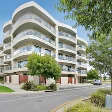 Rental info for Luxury Apartment Living with all the Modern Benefits in the Adelaide area