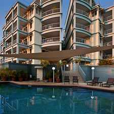 Rental info for spacious fully furnished Cullen Bay apartment in the Larrakeyah area