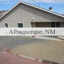 Rental info for Albuquerque, Great Location, 3 Bedroom House. W...