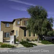 Rental info for 82526 Cray Mill Drive in the Indio area