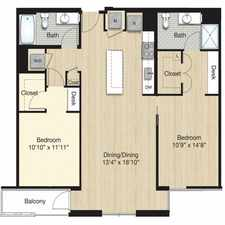 Rental info for $8280 2 bedroom Apartment in Bloomingdale in the Washington D.C. area