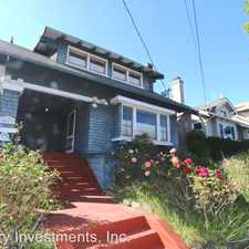 Rental info for 5437 Lawton Ave. in the Oakland area