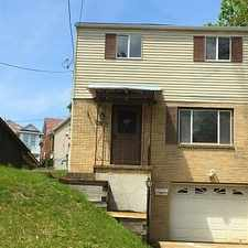 Rental info for House For Rent In Pittsburgh. Will Consider! in the Banksville area