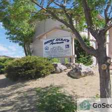 Rental info for Cozy 2 bedroom 1 bath unit located in family friendly complex.